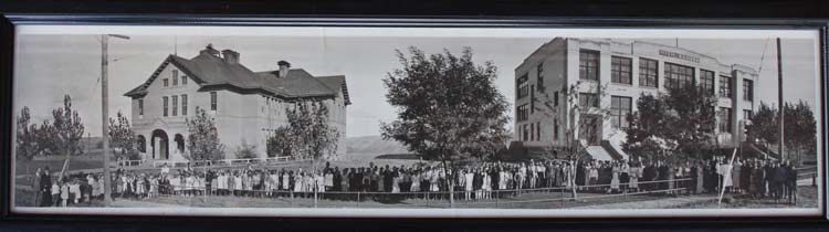 Historic photo of Harrington School