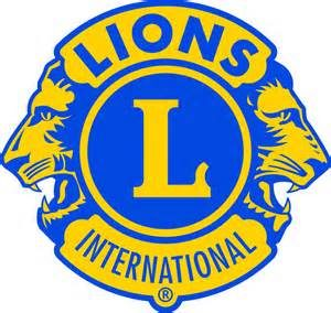 Lions International - blue & gold logo