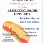 Hot Dogs in the Park - July 17 - 6 - 7 PM - Free Community Event