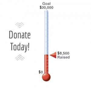 Donate Today - $8,500 raised towards $30,000 goal