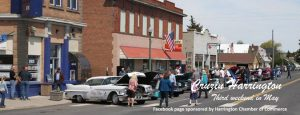 Third street with classic cars