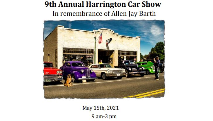9th Annual CarShow-May 15, 2021 9am - 3 pm